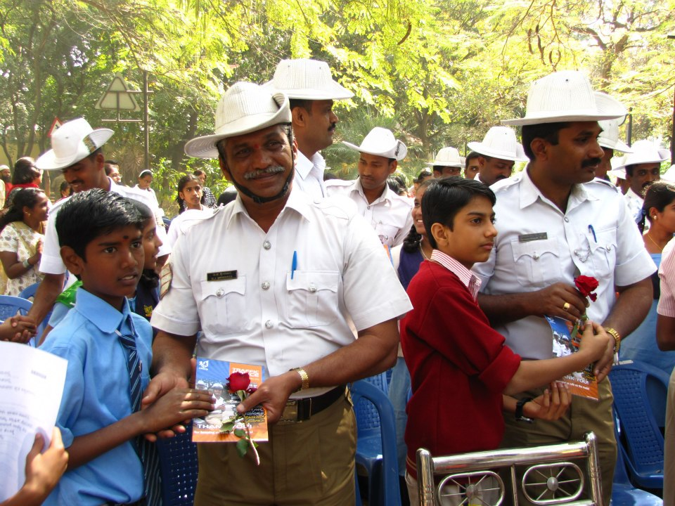 My little gratitude to traffic police for their tireless