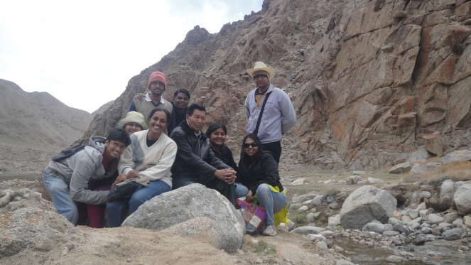 IFDs in the highest classroom of the world with Mr. Chewang Norphel, the 'Glacier Man' of  India.