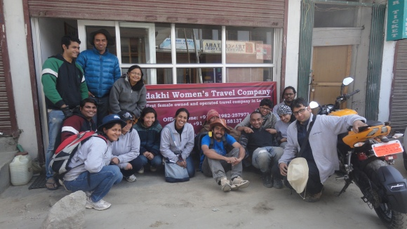 IFDs with Ms. Thinlas Chorol, Founder Ladakhi Women's Travel Company, Leh.