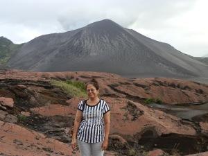 Way to volcano