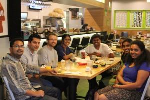 Dinner with AID Austin Volunteers