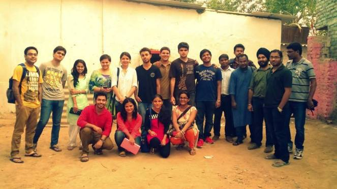 Impact Volunteers from Delhi