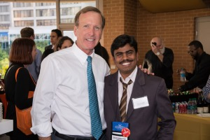Selva with Neil Bush