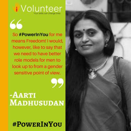 Aarti - #PowerInYou