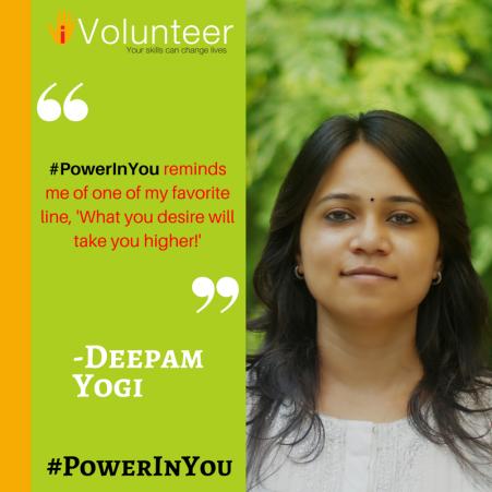 Deepam - #PowerInYou