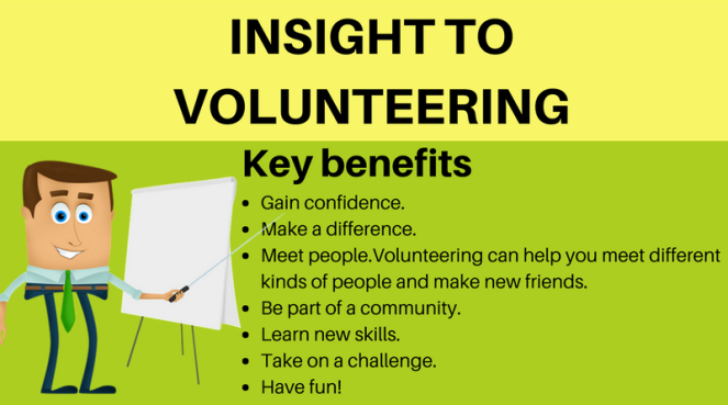 Insight To Volunteering