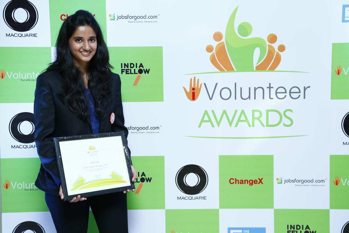 Finalist- iVolunteer Awards